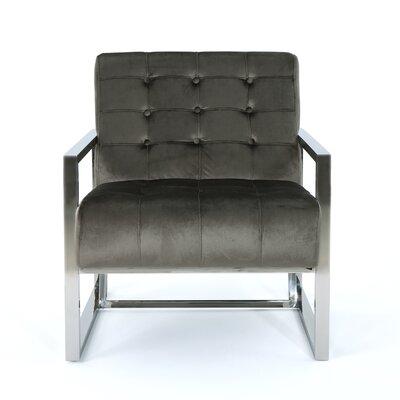 Elsa Armchair Upholstery: Gray