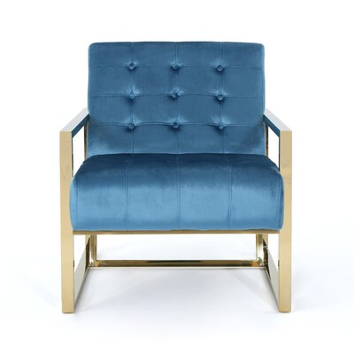 Elsa Armchair Upholstery: Aqua