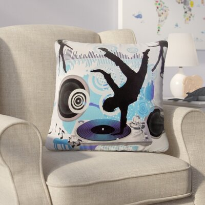 Horsholm Dance Music Throw Pillow