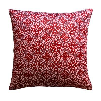 Mcelhannon Non Bordered Throw Pillow Color: Cherry