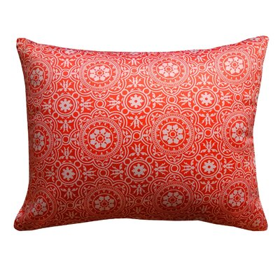 Cottman Non Bordered Throw Pillow Color: Coral
