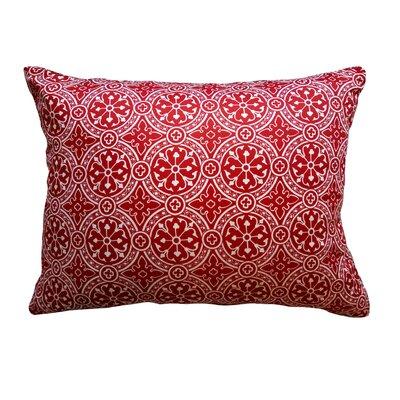 Cotta Non Bordered Throw Pillow Color: Cherry