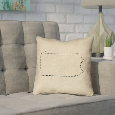 Sherilyn Pennsylvania Dash Outline Double Sided Print