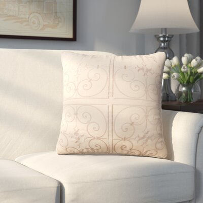 Lingenfelter Throw Pillow Color: Beige