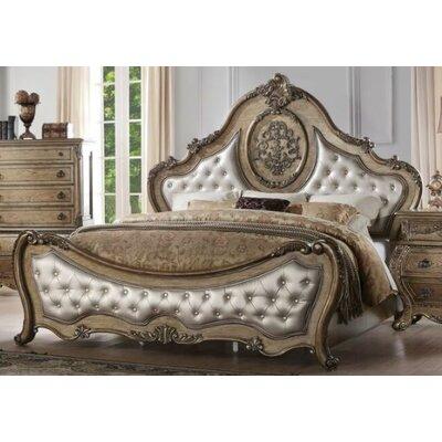 Linares Upholstered Panel Bed Size: California King