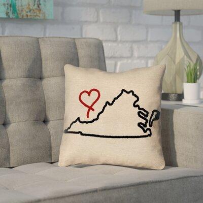 Sherilyn Virginia Love Pillow Cover