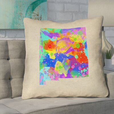 Austrinus New Mexico Watercolor Pillow
