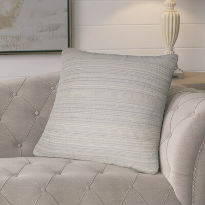 Jayde Woven Stripes Decorative Outdoor Throw Pillow Color: Tan