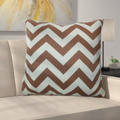 Burd Zigzag Floor Pillow Color: Natural