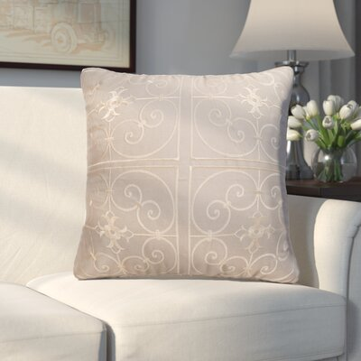 Lingenfelter Throw Pillow Color: Dark Tan