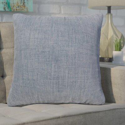 Phoebe Decorative Indoor Throw Pillow Color: Denim