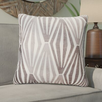 Asaad Diamonds Throw Pillow Color: Gray
