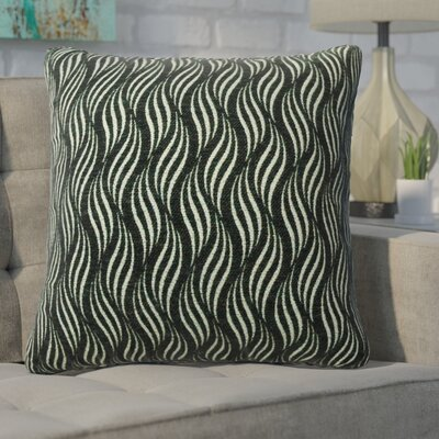 Defino Throw Pillow Color: Pewter