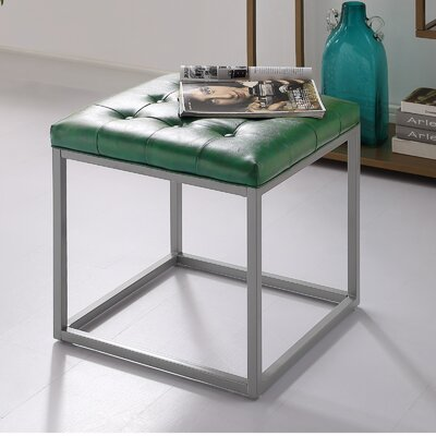 Bismark Ottoman Upholstery: Green