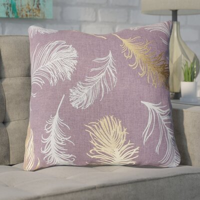 Shanon Throw Pillow Color: Purple