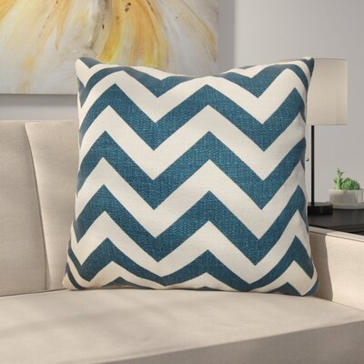 Burd Zigzag Floor Pillow Color: Titan Birch