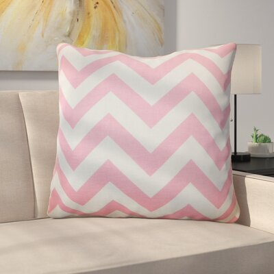 Burd Zigzag Floor Pillow Color: Baby Pink