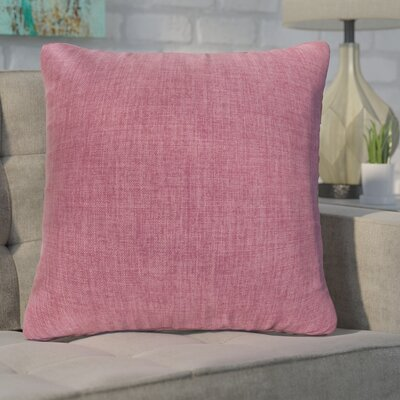 Phoebe Decorative Indoor Throw Pillow Color: Violet