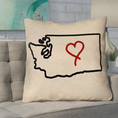 Sherilyn Washington Love Size: 40 x 40, Type: Floor Pillow