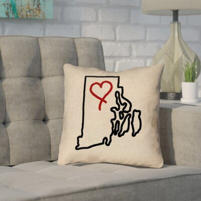 Sherilyn Rhode Island Love Pillow Cover