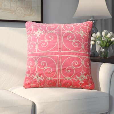 Lingenfelter Throw Pillow Color: Coral