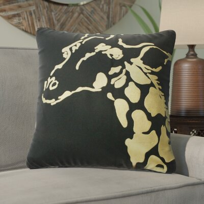 Ba Africa Giraffe Throw Pillow