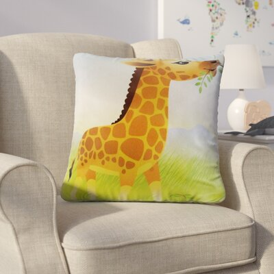 Horstman Giraffe Jungle Animal Throw Pillow