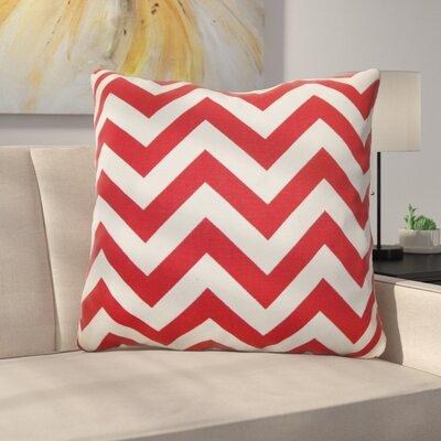 Burd Zigzag Floor Pillow Color: Lipstick Natural