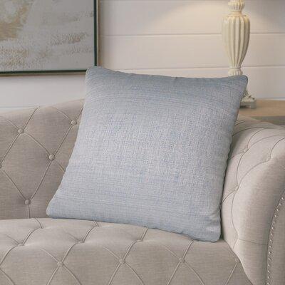 Jayde Woven Stripes Decorative Outdoor Throw Pillow Color: Grey