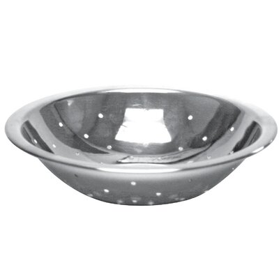 "Perforated Stainless Steel Mixing Bowl Size: 2.5"" H x 6.5"" W x 6.5"" D SLMBP075"