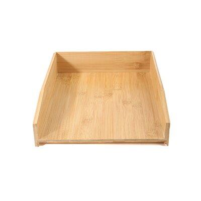 Eco-Friendly Bamboo File Tray