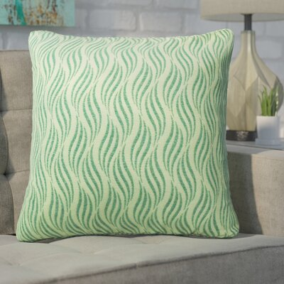 Defino Throw Pillow Color: Teal
