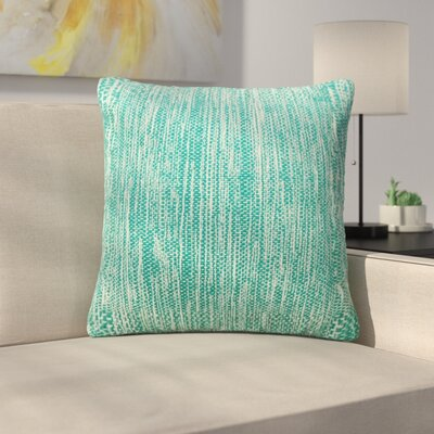 Tessier Lurex Throw Pillow Color: Teal