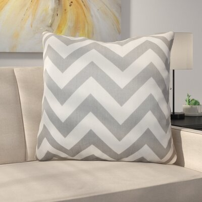 Burd Zigzag Floor Pillow Color: Ashes