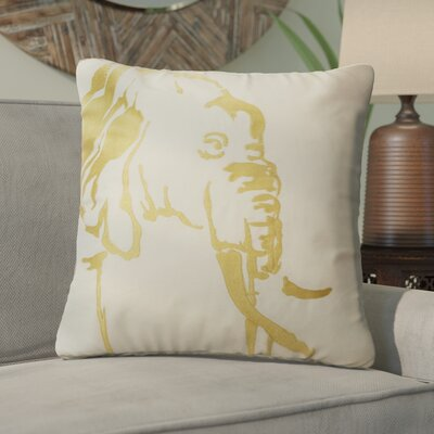 Ba Africa Elephant Throw Pillow