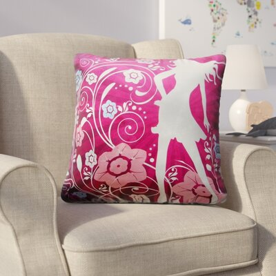 Hornsby Flower Garden Girl Throw Pillow
