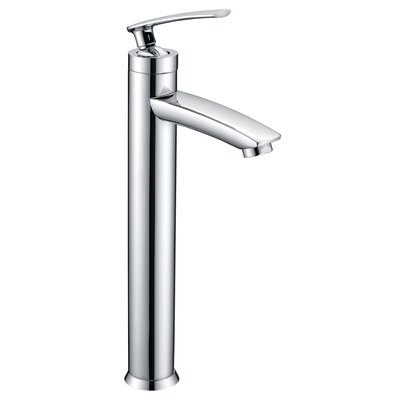 Fifth Single Hole Single Handle Bathroom Faucet with Drain Assembly Finish: Polished Chrome