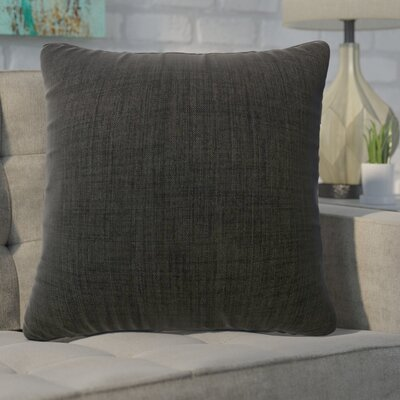 Phoebe Decorative Indoor Throw Pillow Color: Black