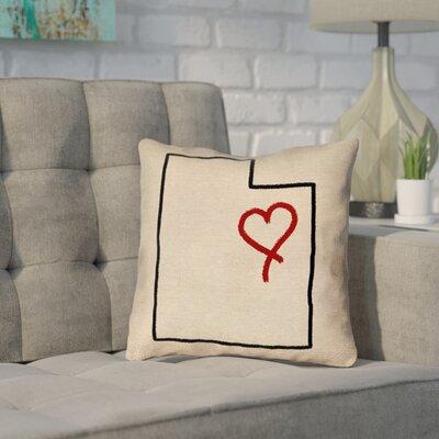 Sherilyn Utah Love Outline Pillow
