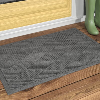 Rectangle Diamond Doormat Rug Size: Rectangle 2 x 3