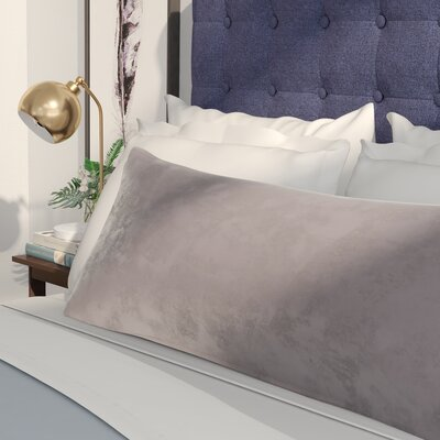 Arie Pillowcase Color: Gray
