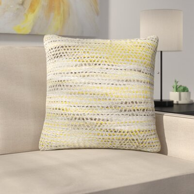 Tessier Throw Pillow Color: Gold