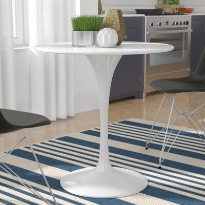 Julien Dining Table Size: 28.5 H x 27.5 W x 27.5 D