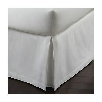 Soprano Tailored 420 Thread Count Bed Skirt Size: King, Color: White