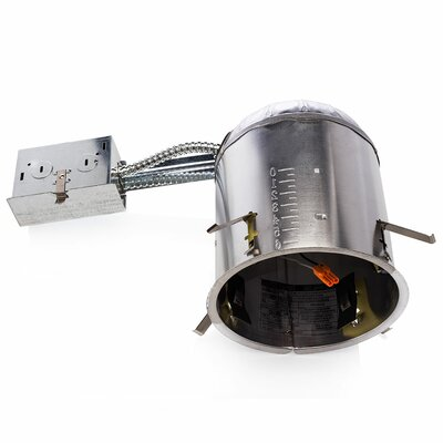 Remodel Can Air Tight IC LED Recessed Housing