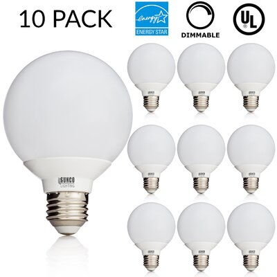 6W E26/Medium (Standard) LED Light Bulb Bulb Temperature: 5000K