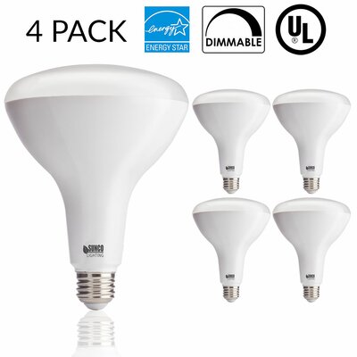 17W Frosted E26/Medium (Standard) LED Light Bulb Bulb Temperature: 4000K