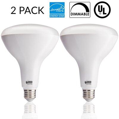 17W Frosted E26/Medium (Standard) LED Light Bulb Bulb Temperature: 4000K