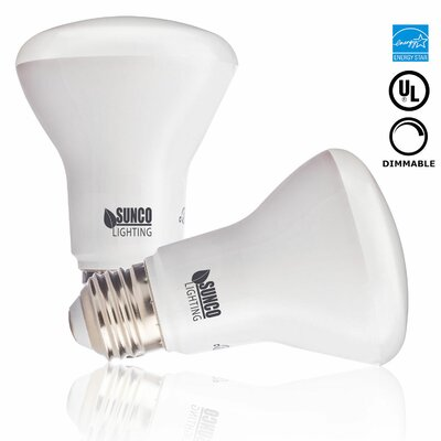 7W Frosted E26/Medium (Standard) LED Light Bulb Bulb Temperature: 3000K