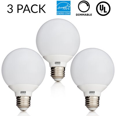 6W E26/Medium (Standard) LED Light Bulb Bulb Temperature: 3000K